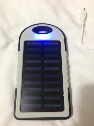 power bank bateria solar 5000mah