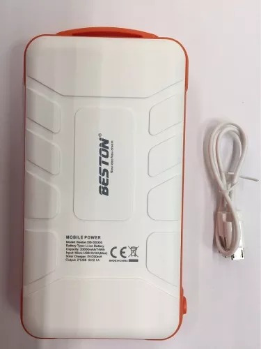 power bank beston cargador portátil solar 20.000mah reales