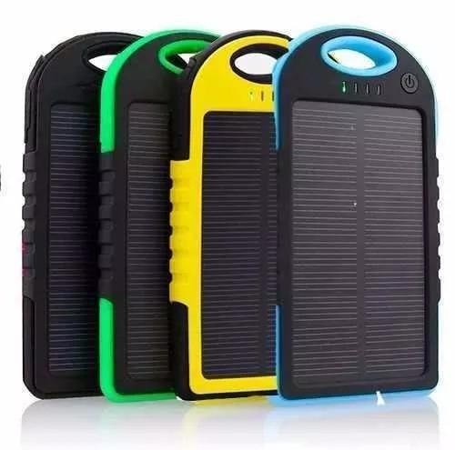 power bank cargador bateria solar potente cualquier telefono