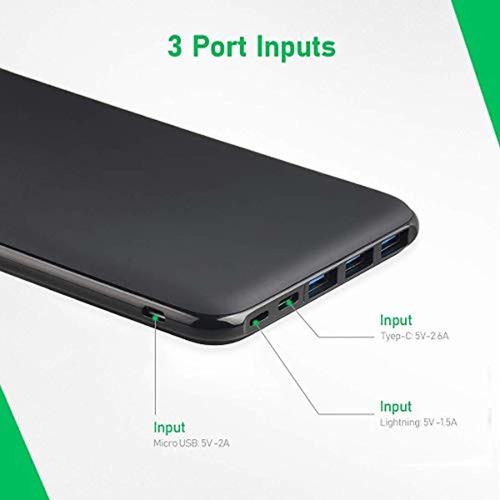 power bank cargador portátil 26800 mah de alta capacidad 5 v