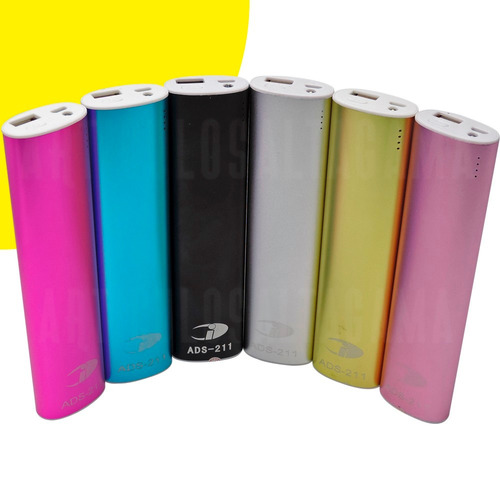 power bank cargador portatil bateria externa 6800mah luz led
