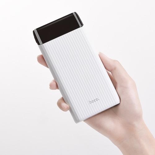 power bank carregador portatil  10000 mah hoco j28 rapido