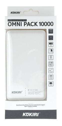 power bank carregador portatil kokiri 10000mah - excelente