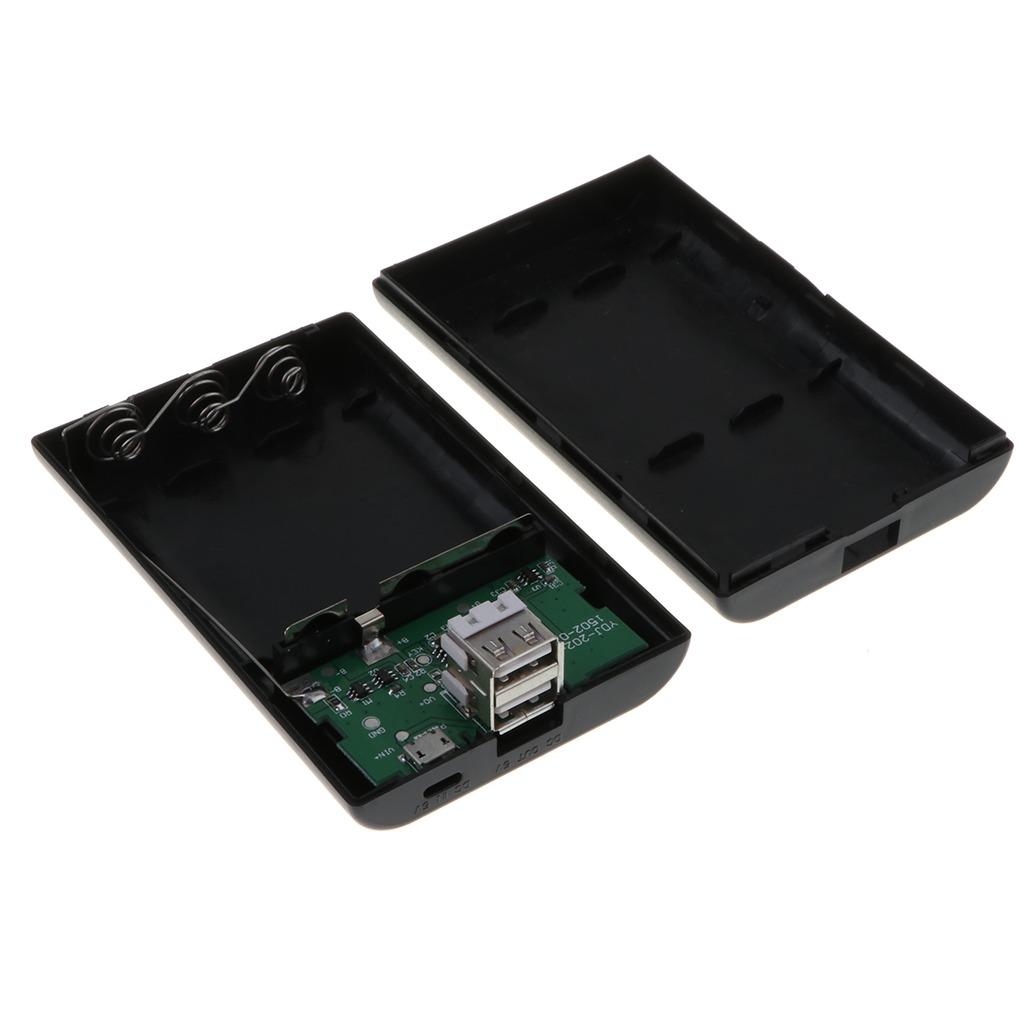 06d1395b3d1 Power Bank Case Usb 18650 Cargador De Batería Para Teléfo - $ 1.403 ...