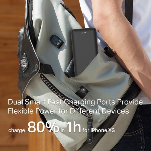 power bank celular tablet tp link 20000mah universal 2 usb