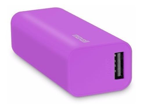 power bank maxell cargador portatil 2600 mah mpc-d2600