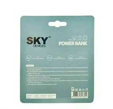 power bank original sky nuevos