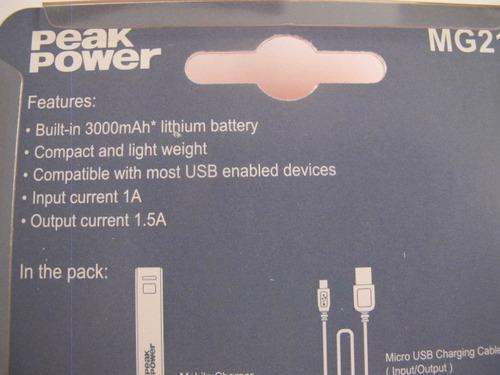 power bank power