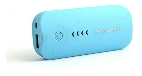 power bank powerbank cargador portatil 5600 mah con linterna