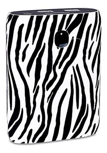 power bank pro 8800mah 2 usb 5v led zebra