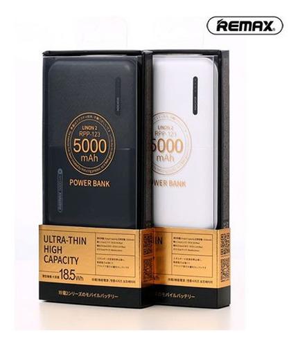 power bank remax linon 2 series 2 usb 5000mah rpp-123