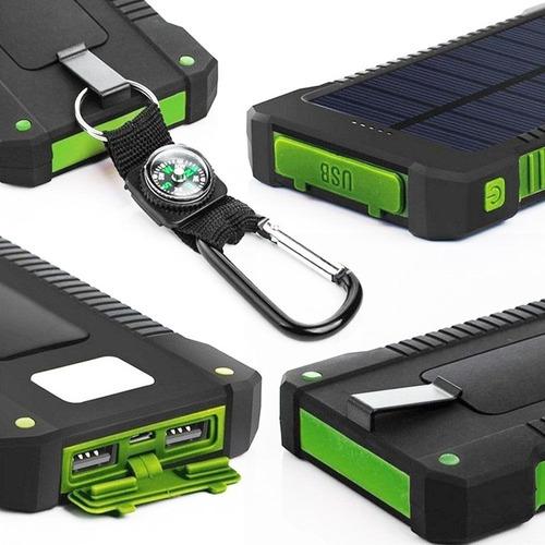 power bank solar batería externa 100.000 mah