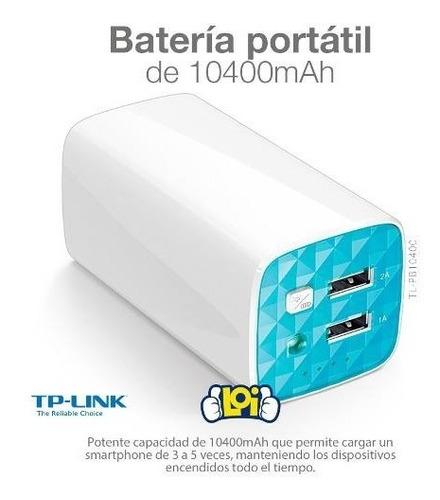 power bank tp-link 10400mah reales doble usb en loi