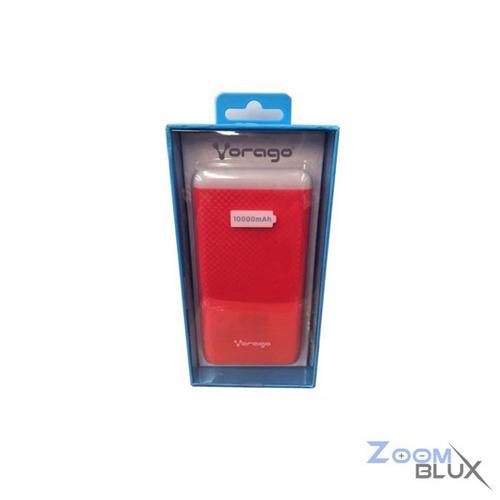 power bank vorago pb-400-rd 10000 mah rojo /v /v