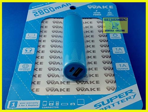 power bank wake cilindrico 2800mah