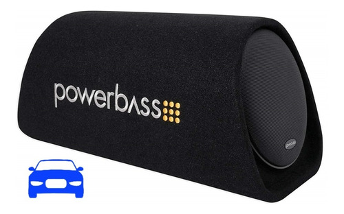 power bass cajón amplificado ventilado de 8 bta-8
