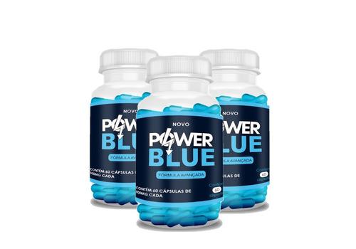 power blue original 3 potes - frete gratis !aproveiteeeee!
