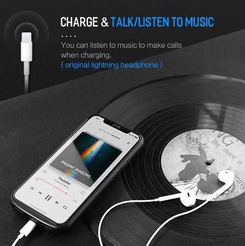 power case batería externa iphone x 6000mh marca rock