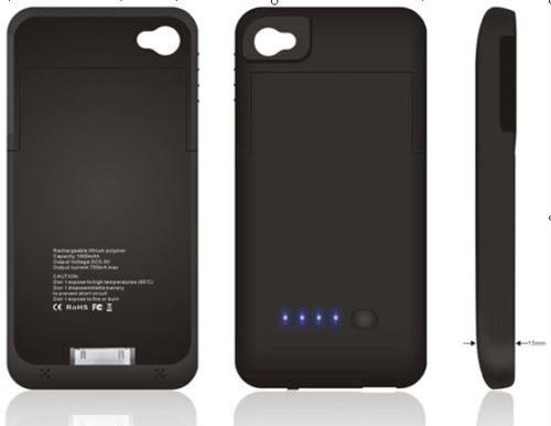 promo code 1e467 4e7a1 Power Case - iPhone 4 E 4 S - 8000 - Últimas Unidades!