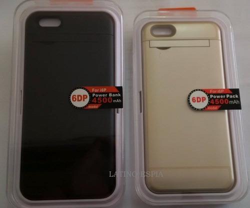 power case para iphone 6 plus y 6s plus  de 4500mah en lince