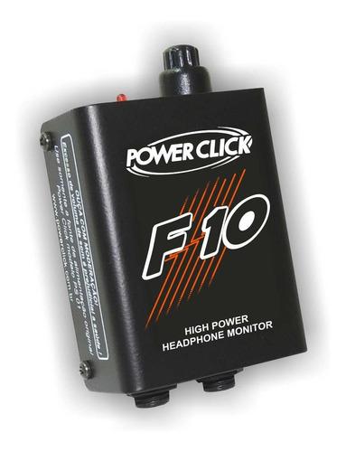 power click - amplificador de fone de ouvido f10 - f 10