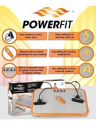 power fit plataforma plana para hacer ejercicio maquina con
