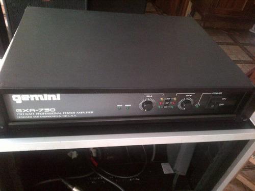 power geminis gxa-750 poco uso