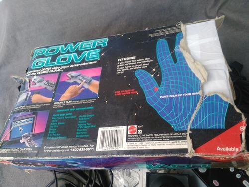 power glove guante para nintendo nes