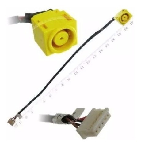power jack con cable para lenovo b480 b490 v480 m490 m495