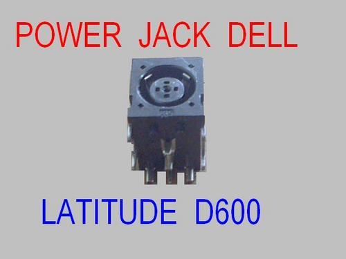 power jack laptop dell latitude d400 d500 d600 d800 d610