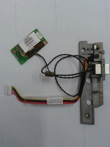 power jack para fonte e rj11 para modem hp pavilion dv 2700