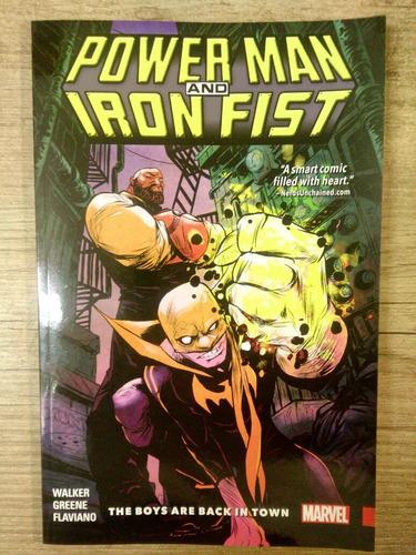 power man and iron fist  walker/greene /flaviano
