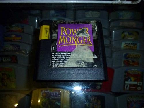 power monger sega genesis/megadrive