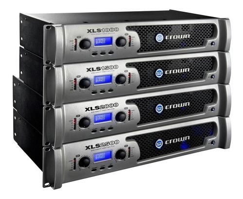 power o amplificador crown xls 2000... totalmente nuevo