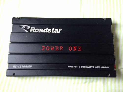 power one 2400 watts rs-4510amp som
