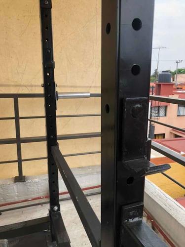 power rack & banco multiposiciones