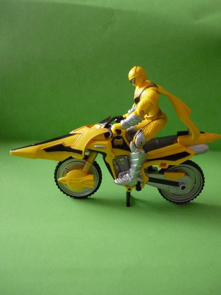 power ranger amarillo en moto en mercado libre. Black Bedroom Furniture Sets. Home Design Ideas
