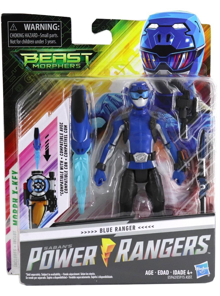 Power Rangers Beast Morphers - Ranger Azul (351)