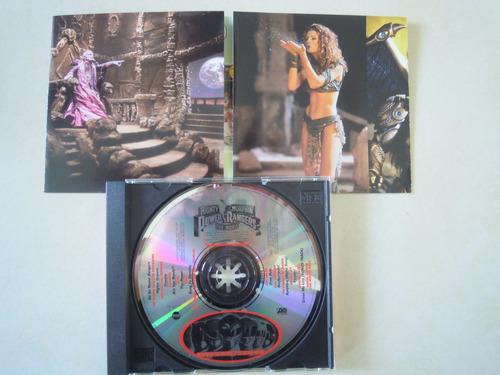 power rangers cd mighty morphin the movie