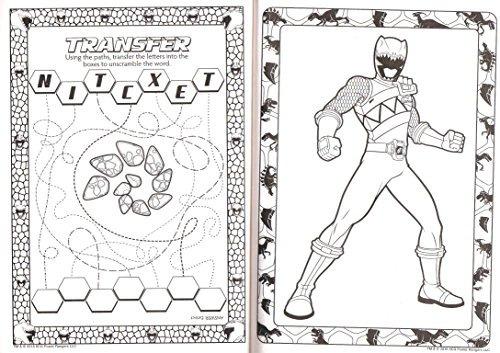 Power Rangers Dino De Carga Para Colorear Jumbo ! - $ 109.135 en ...