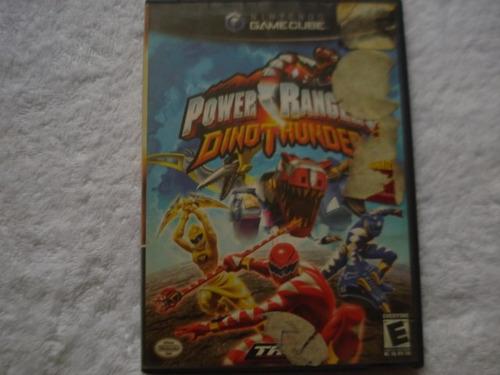 power rangers dino thunder nintendo gamecube y wii