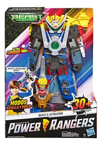 power rangers figuras playskool heroes: morphin megazord set