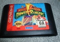 power rangers - mighty morphin / sega genesis