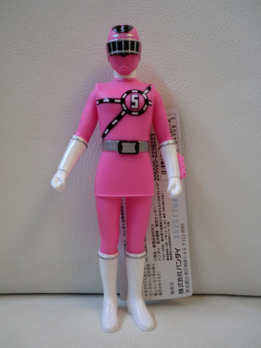 power rangers pink  rosa - bandai