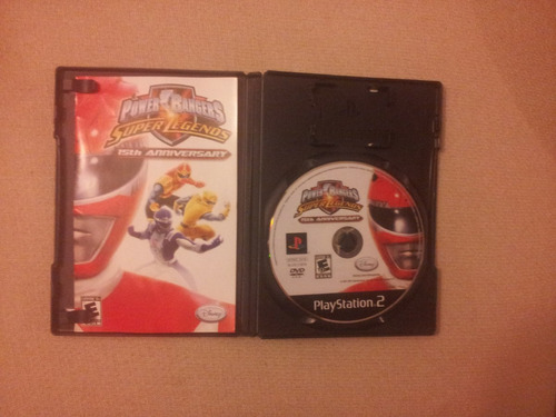 power rangers super legends 15th anni play station 2 ps2 ps3