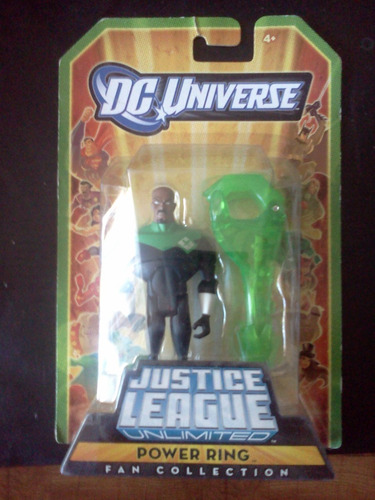 power ring green lantern dc universe liga justicia trabucle