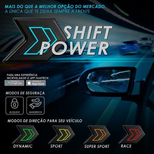 power shift chip de potência acelerador bluetooth plug play