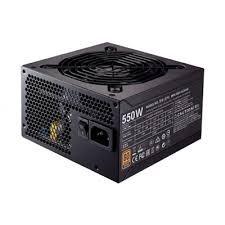 power supply cooler master mwe 550w bronze certified active