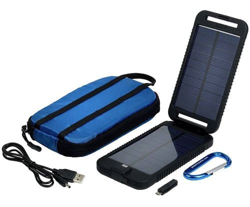 power traveller cargador solar batería 3500 mah adventurer