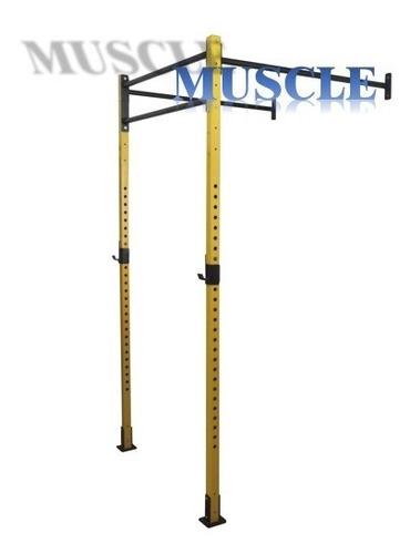 power wall 3 - 2,4m crossfit agachamento supino rack